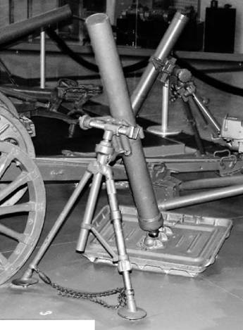 Миномёт Стокс-Брандт образца 1934г. Фото ГеннадийШубин