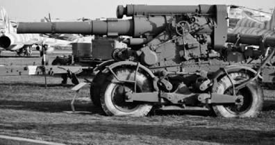 Б-4М калибра 203 мм на самоходном шасси. Дальность выстрела — до 18км. Используется на Кубе. Возможно использовалось кубинцами в Африке. Фото Вячеслав Барабуля