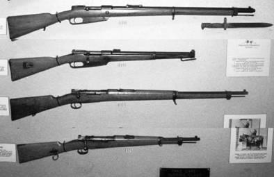 Немецкие винтовки и карабины Маузер калибра 7 мм. Фото ГеннадийШубин