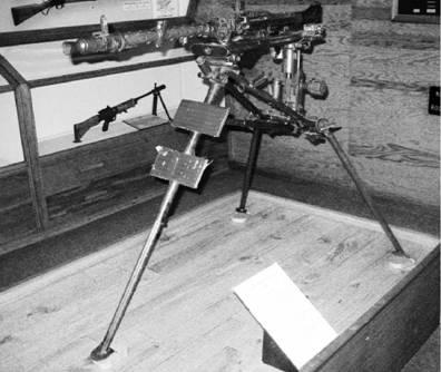 Пулемет МГ-42 калибра 7,92 мм, производства фашисткой Германии Фото Геннадий Шубин