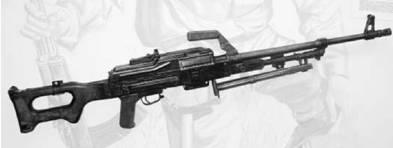 Пулемёт Калашникова (ПК) калибра 7,62 мм (патрон 7,62x54 мм). Фото Геннадий Шубин