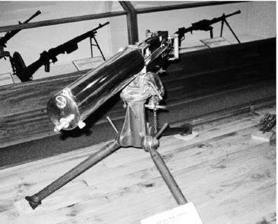 Пулемёт Максим-Виккерс MK I (Максим) под патрон 7,71 мм Использовался в Африке с 1893 до 1975гг. Фото Геннадий Шубин
