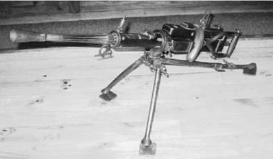 Пулемёт Ревелли Модель 26 калибра 6,5 мм производства фашистской Италии. Возможно применялся в Африке с 1954г. Фото ГеннадийШубин