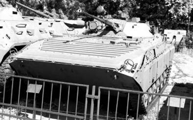БМП-2. Скорострельное орудие калибра 30 мм. Фото Виктор Лызлов