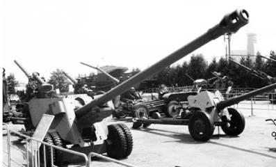 БС-3 калибра 100 мм. Дальность выстрела — до 20,6км. Фото ГеннадийШубин