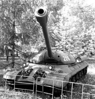 ИС-3. Пушка калибра 122 мм. Фото Виктор Лызлов