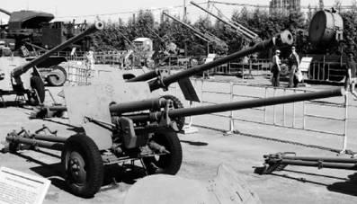 ЗИС-2 калибра 57 мм. Дальность стрельбы — 13, 2км. Фото Геннадий Шубин