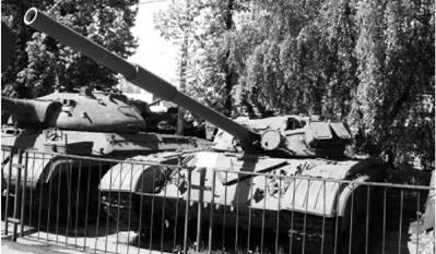 Т-64А. Пушка калибра 125 мм. Фото Виктор Лызлов