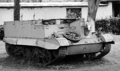 Бронетранспортёр Юниверсал Кариер Mk I (Было выпущено 150 000 в Англии, Канаде, Южной Африке, Австралии и Новой Зеландии. Зимбаве). Фото Елена Харитонова