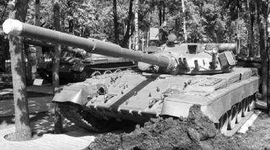 Т-80Б. Пушка калибра 125 мм. Фото Геннадий Шубин