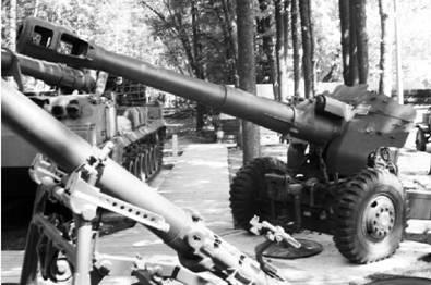 Пушка-гаубица Д-20 калибра 152 мм. Фото Геннадий Шубин