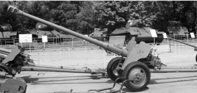 Д-44 калибра 85 мм. Дальность выстрела — до 15,8км. Фото Геннадий Шубин