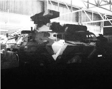 Бронетранспортёр Рател (в противотанковом варианте ZT3) южноафриканского производства. Фото Ян Либенберг