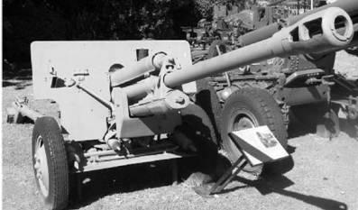 ЗИС-3 калибра 76 мм. Дальность выстрела — 13,3км. Фото Геннадий Шубин