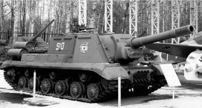 ИСУ-152. Пушка калибра 152 мм. Фото Геннадий Шубин