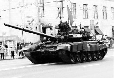 Танки Т-9°C. Пушка калибра 125 мм. Фото Геннадий Шубин