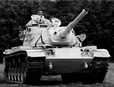 Американский танк М60. Пушка калибра 105 мм. Фото из сети Интернет