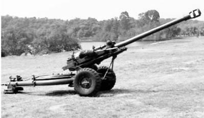 Артиллерийское орудие L118 калибра 105 мм английского производства. Фото из сети Интернет