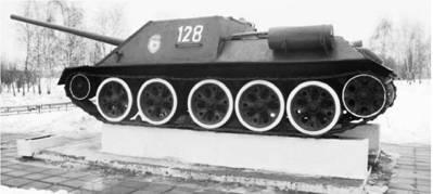 Су-100. Пушка калибра 100 мм. Фото Геннадия Шубина