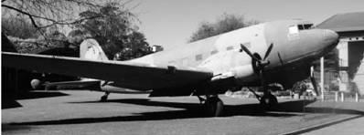 ДС-3 Дакота американского производства ВВС ЮАР Фото Геннадий Шубин