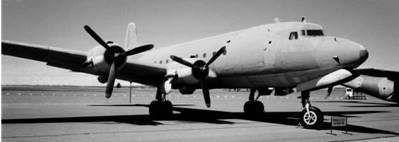 ДС-4 Скаймастер американского производства ВВС ЮАР Фото Ян Либенберг