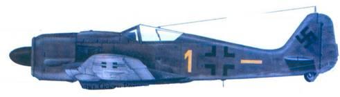 2.Fw 190А-8, майор Бернд Галлович, мврт 1945-года