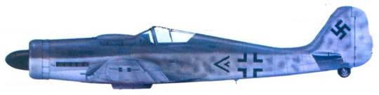 3.Fw 190D-9, оберлейтенант Оскар Ромм. март 1945 года