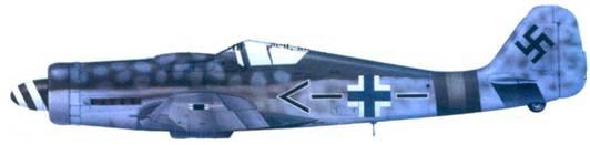 4.Fw 190D-9, подполковник Рихард Михальски, январь 1945 года