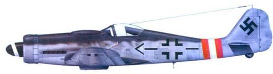 6.Fw 190D-9, майор Герхард Баркхорн, январь 1945 года