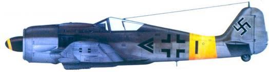 7.Fw 190А-8, капитан Герберт Куча, февраль 1945 года