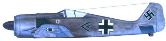 8.Fw 190А-3, капитан Генрих Краффт, август 1942 года