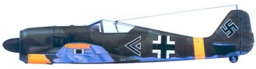 9.Fw 190А-5, майор Эрих Ляйе, май 1943 года