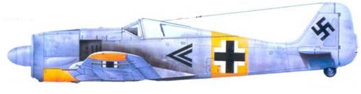10.Fw 190А-3, капитан Рудольф Буш, январь 1943 года
