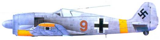 11.Fw 190А-3, капитан Хайнц Ланге. декабрь 1942 года