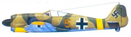 13.Fw 190A-4, лейтенант Йозеф Йейневайн, июнь 1943 года