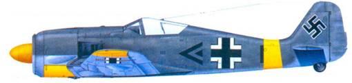 14.Fw 190A-5. капитан Фриц Лозигкайт, июль 1943 года