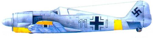 15.Fw 190А-3, капитан Герберт Венельт, январь 1943 года