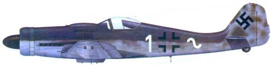 16.Fw 190D-9, лейтенант Курт Танцер, апрель 1945 года