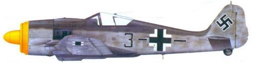 17.Fw 190A-8. унтер-офицер Гельмут Йонс, ноябрь 1944 года