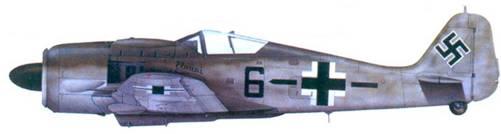 18.Fw I90A-8, обер-фельдфебель Фриц Люддеке, июль 1944 года