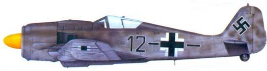 20.Fw 190A-8, фельдфебель Иоганн Мербелер, ноябрь 1944 года