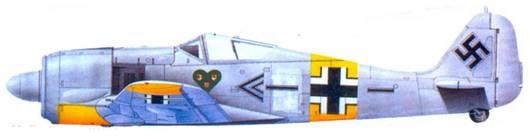 21.Fw 190A-4, подполковник Ханнес Траутлофт, декабрь 1942 года