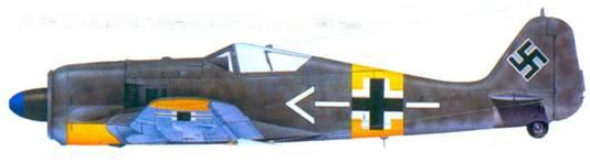 23.Fw 190A-5. майор Губергус фон Бонин, ноябрь 1943 года