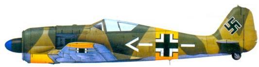 24.Fw 190А-6, подполковник Антон Мадер, июль 1944 года
