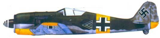 26.Fw 190A-6, капитан Вальтер Новотны, ноябрь 1943 года