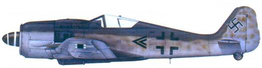 27.Fw 190A-8, капитана Франца Айзенаха, ноябрь 1944 года
