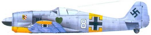 28.Fw 190А-4, лейтенант Вальтер Новотны. ноябрь 1942 года