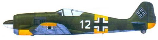 31.Fw 190А-6, лейтенанта Гельмута Веттштайна. 1943 год
