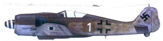 32.Fw 190A-8. лейтенант Хайнгц Вернике. сентябрь 1944г.