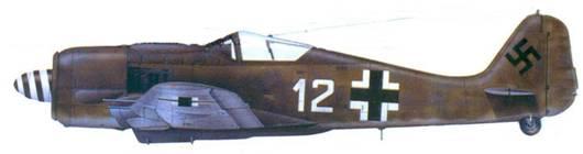 33.Fw 190A-8, обер-лейтенант Иозеф Хайнцеллер. ноябрь 1944 года